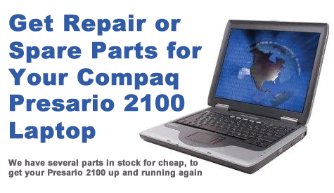 Compaq Presario 2100 Laptop Parts