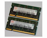 Picture of Hynix 1GB (2 x 512MB) PC2-4200 DDR2 SODIMM Laptop Memory V000061770