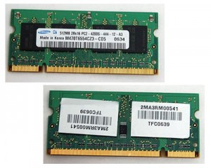 Picture of Laptop Memory