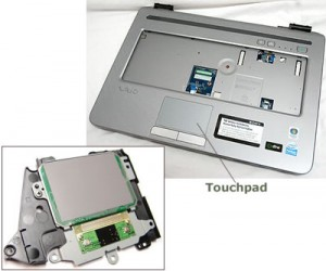Laptop Touchpad Picture